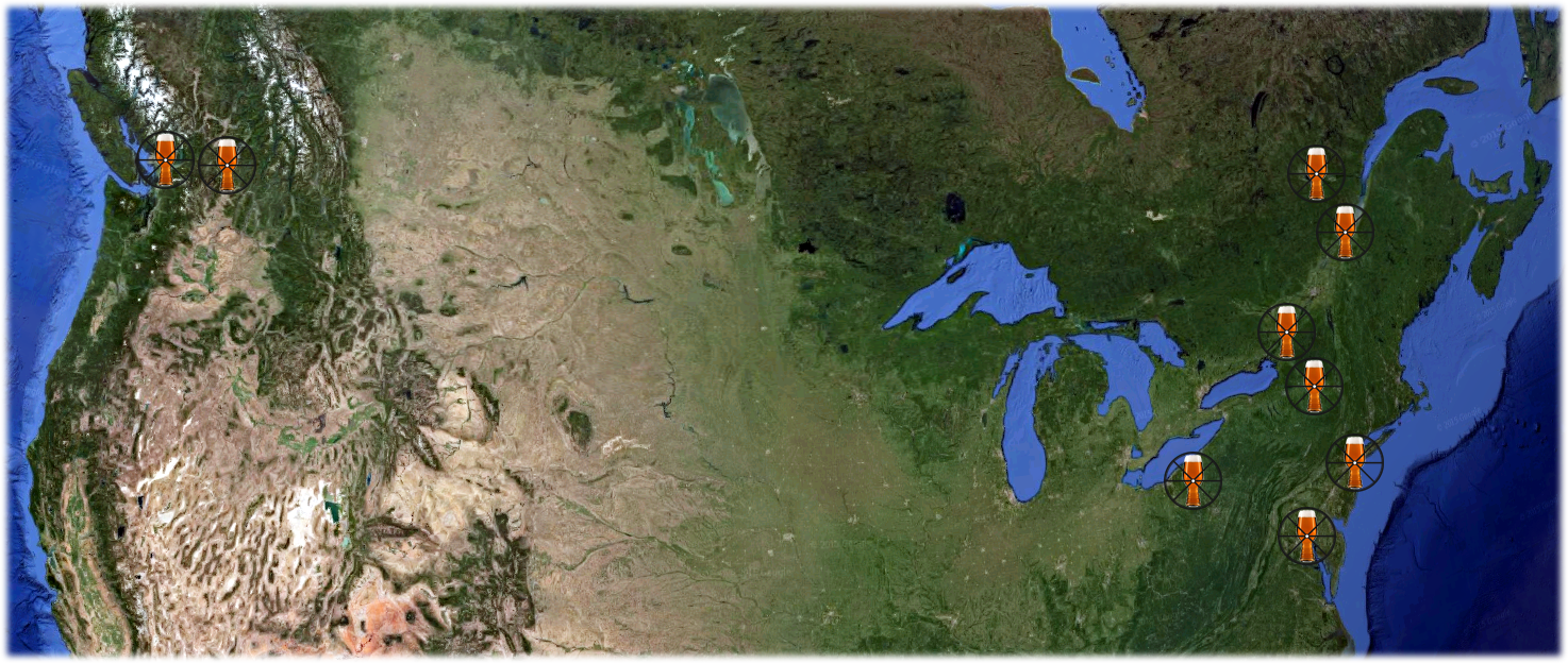 North American Trip